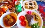 غذاهای سنتی در رستوران سنتی جزیره