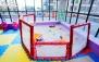 بازی، منو کافه و اصلاح سر در خانه بازی کودک کیدو