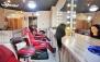 براشینگ مو در آرایشگاه رومینا