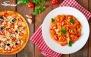 منو پیتزا و پاستا در رستوران ایتالیایی پیاتو