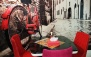 کافه نیروانا با سرویس سفره خانه ای عربی دو نفره