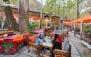 سینی افطار در باغ رستوران البرز درکه