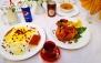 رستوران معین درباری با چلو مرغ