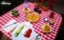 سینی افطار مفصل در فست فود کارینو