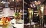منو کافه متنوع در کافی شاپ نیمکت