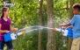 آب بازی با تفنگ آبپاش در مجموعه فایتر دریاچه چیتگر