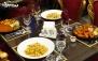 انواع پاستا و شنیسل در رستوران کسری