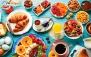 منو صبحانه در کافه رستوران نقش جهان