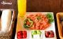 صبحانه و میان وعده های متنوع در کافه سان