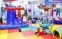 شادی و نشاط کودکانه در خانه بازی باران