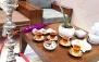 چای سنتی و منو آبمیوه در کافه افلاک