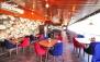 منوی پیتزا و برگر در کافه فست فود پله