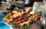 انواع غذاهای خوشمزه در باغچه رستوران سهیل