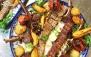 غذای ارگانیک در محیط رویایی رستوران باغ بالا