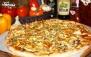 پیتزا هیزمی سنگی در تنور داغ فست فود آروما