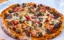 پیتزا هیزمی سنگی در فست فود آروما