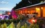 باغ رستوران کاج سرخه حصار با منوی باز غذا و پیش غذا