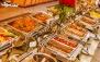 هتل بین المللی قصر با بوفه آزاد ناهار رستوران مرسده