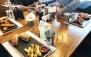 رستوران فرنگی پارادایز با منوی باز متنوع