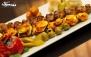 رستوران صبا در فودکورت صبامال با منوی باز ایرانی