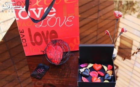 پکیج5: شمع قلب ریز 6 تایی قرمز و مشکی