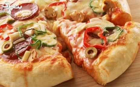 منو پیتزا در رستوران وردنه