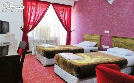 پکیج 1: اتاق دو تخته در شعبه لار هتل ایرانگردی