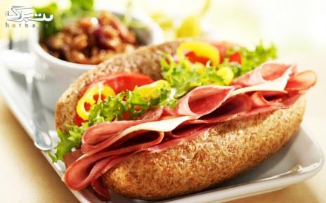 منو ساندویچ و برگر در فست فود کلبه(تهرانپارس)