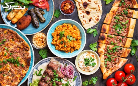 منو باز غذاهای ترکی در رستوران پیده سرا