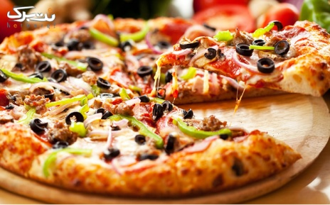 پیتزا ایتالیایی و آمریکایی در کافه رستوران دی آنتو