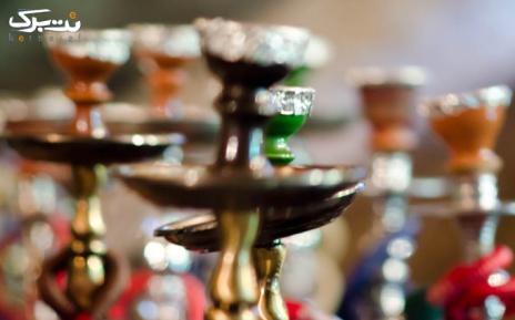 سرویس چای سنتی در باغچه رستوران سنتی کنعان