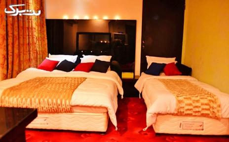 پکیج 5: اقامت در اتاق چهار تخته