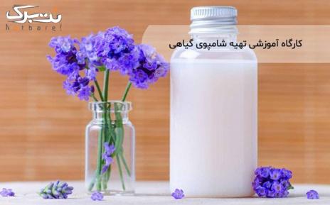 کارگاه آموزشی تهیه صابون جامد و مایع گیاهی