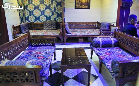 منو کافه در سفره خانه خلیج فارس