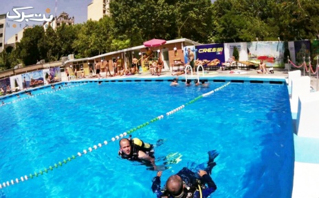 شنا در استخر بلوط ولنجک ویژه پنجشنبه و جمعه