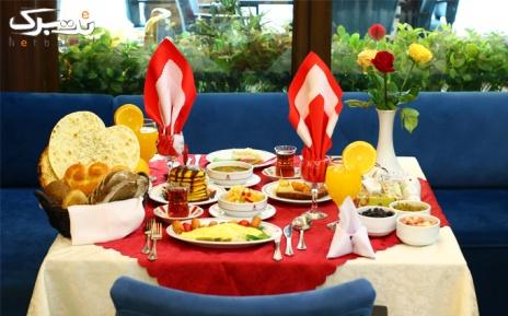 بوفه صبحانه ویژه 5 شنبه و جمعه در هتل پارسیان اوین
