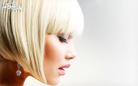 مش فویلی برای موهای تا سرشانه در سالن زیبایی آیلین