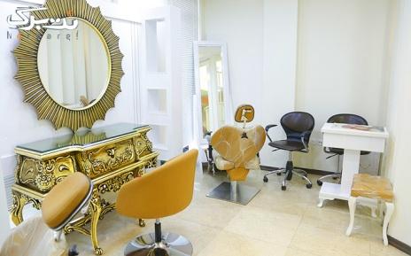 آموزش اکستنشن مژه تار به تار در آرایشگاه بانو سرخه