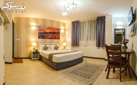 اقامت با صبحانه ویژه اتاق 2 تخته در هتل آفتاب