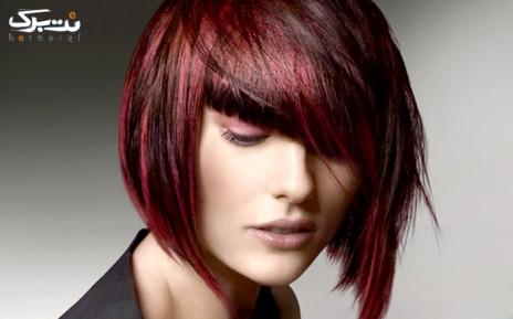 رنگ مو کوتاه در سالن مونا سالاری
