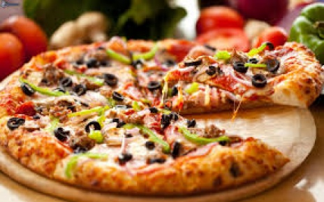 منوی پیتزا و پاستا