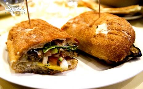 منوی برگر، ساندویچ و غذای پرسی تا سقف 16,000 تومان