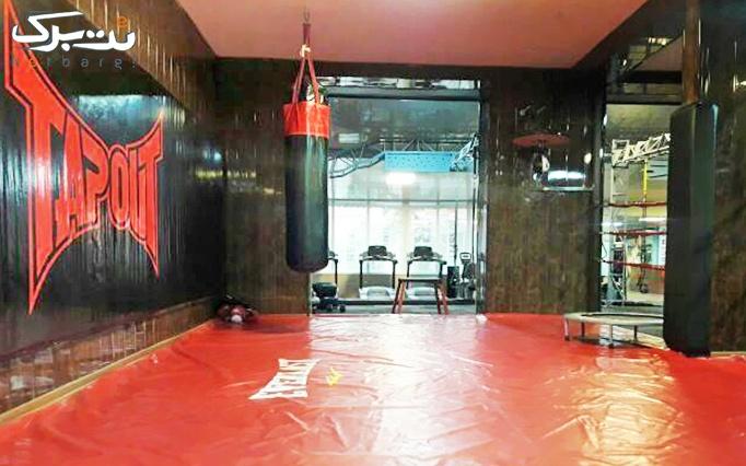 آموزش کیک بوکسینگ در باشگاه انوش VIP (ویژه بانوان)