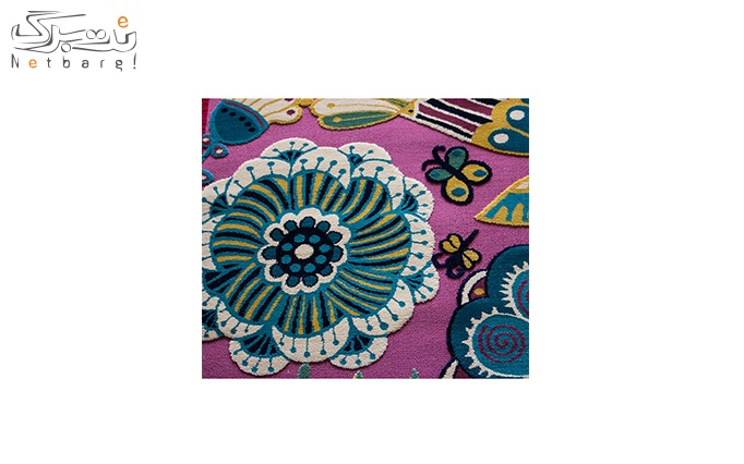 فرش ماشینی پاتریس طرح گپروا رنگی گل ارا رنگی
