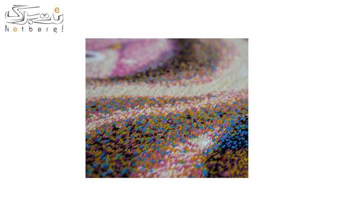 فرش ماشینی پاتریس طرح کویین رنگی