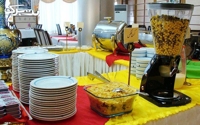 هتل 4 ستاره توریست توس با بوفه صبحانه