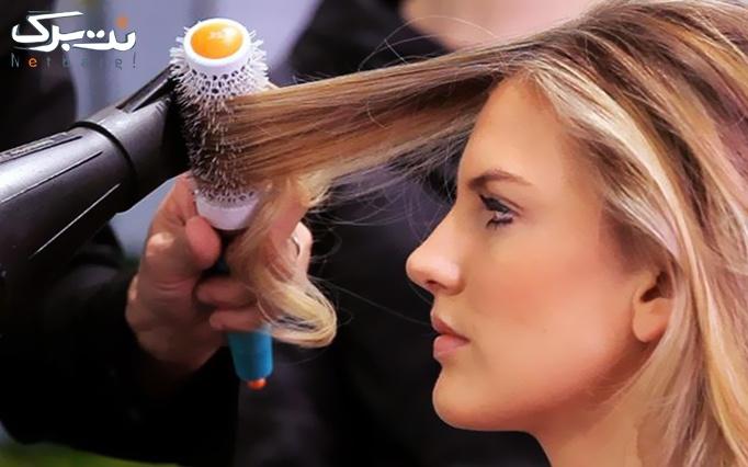 براشینگ مو در آرایشگاه آیلین