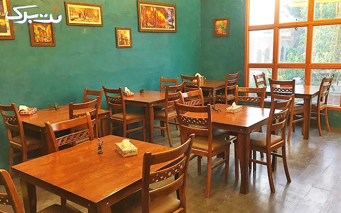 کافه رستوران هشتگ با منو فست فود