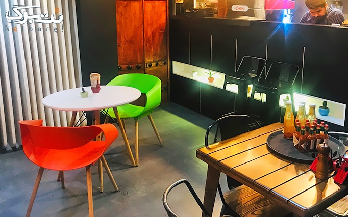 کافه رستوران تژه با منو استیک