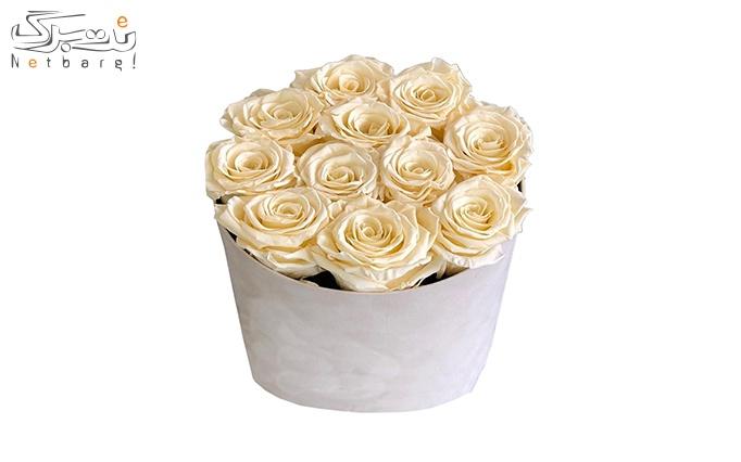 ویژه عاشقانه پرتخفیف: جعبه گل